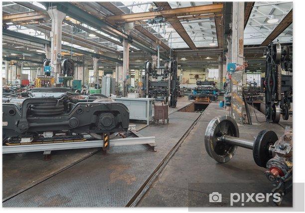industrial workshop Poster