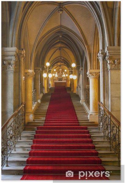 Póster Interior del castillo gótico - Temas