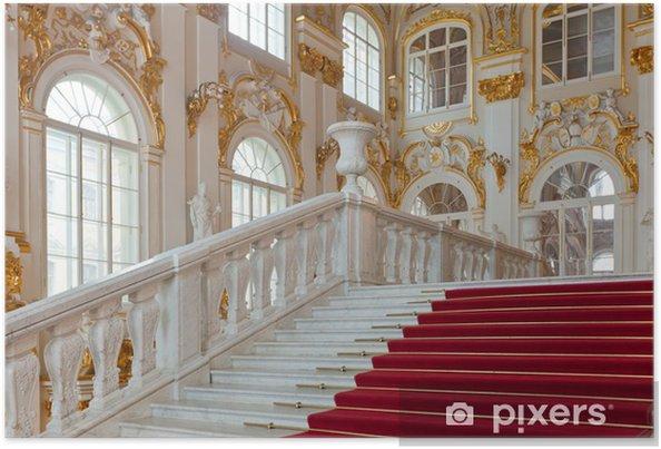 Póster Interior del Palacio de Invierno - Construcciones públicas