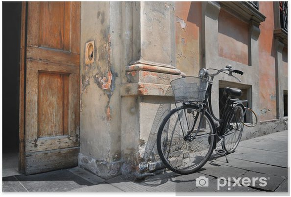 Poster Italienne ancienne bicyclette - Europe