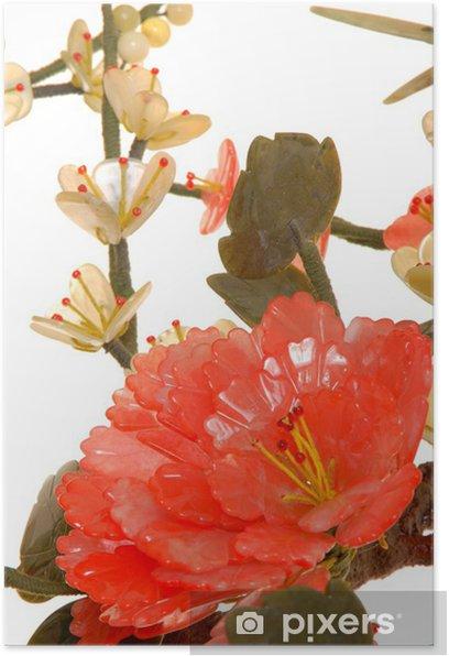jade cherry blossom 11 Poster - Flowers