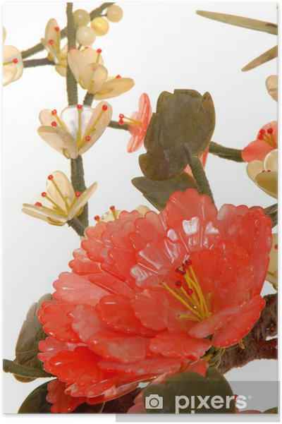 Poster Jade de fleurs de cerisier 11 - Fleurs