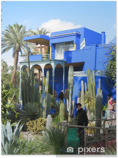 Jardin Majorelle Maroc Poster Pixers We Live To Change