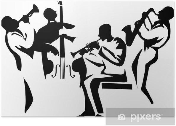 jazz quartet Poster - Jazz