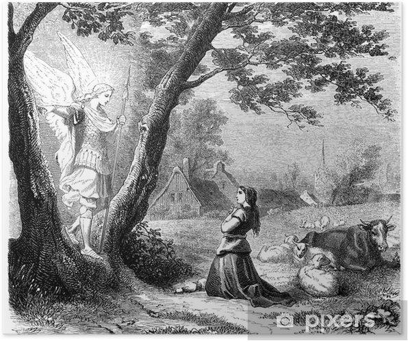 Poster Jeanne d'Arc et St Mickael - Thèmes