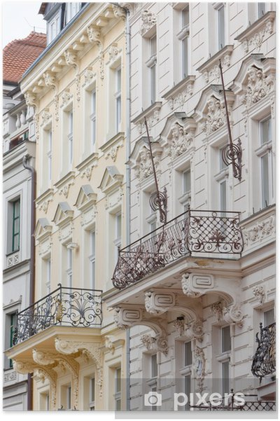 Poster Karlovy Vary (Carlsbad), République tchèque - Europe