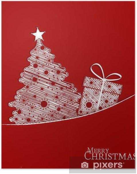 Poster Kerstmis achtergrond - Internationale Vieringen