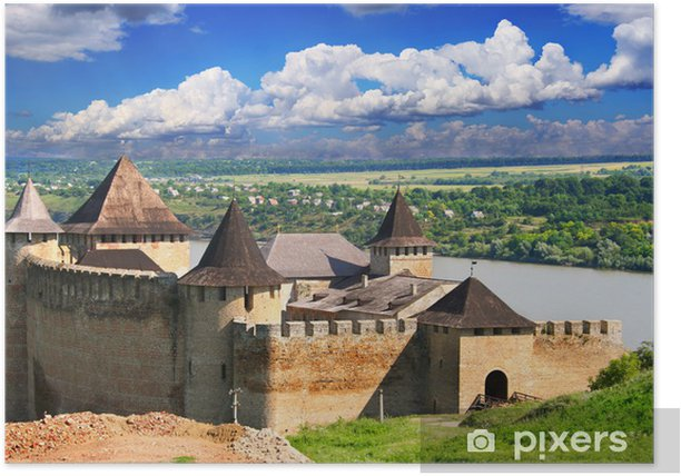 Khotyn Fortress Poster - Europe