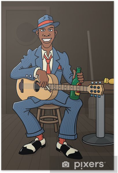 King of the Delta Blues Poster