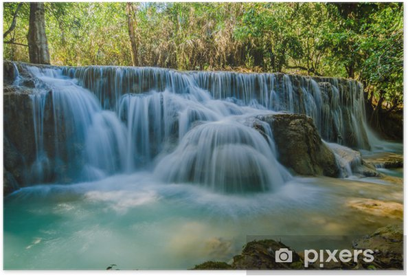 Poster Kuang pas cascade, Tad Angsi - Asie