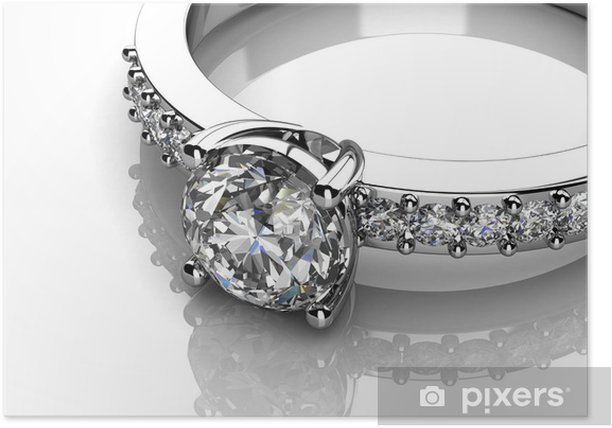 Poster L'anneau de mariage beauté - Destin