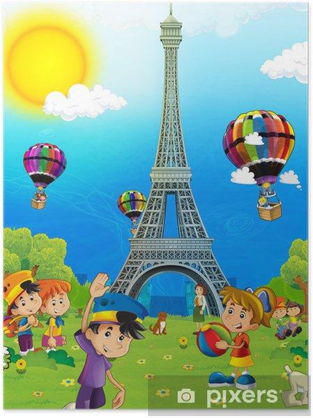 Poster L'architecture emblématique et historique - Vacances