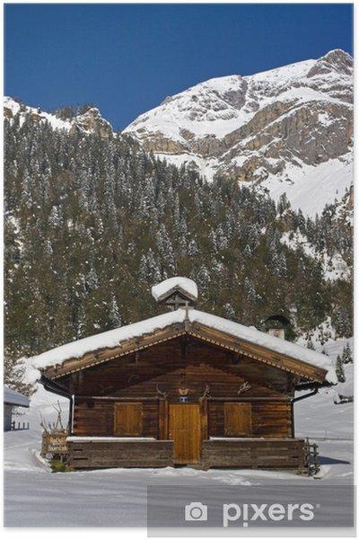 Poster L'hiver dans le Eng - Propriétés privées