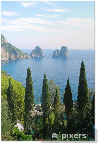 Poster L'île de Capri - Europe