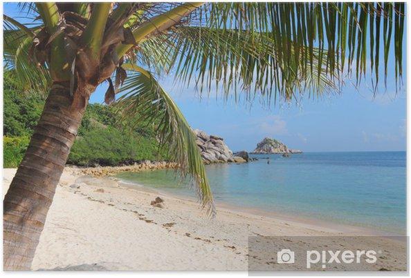 Poster L'île de Koh Tao en Thaïlande - Asie