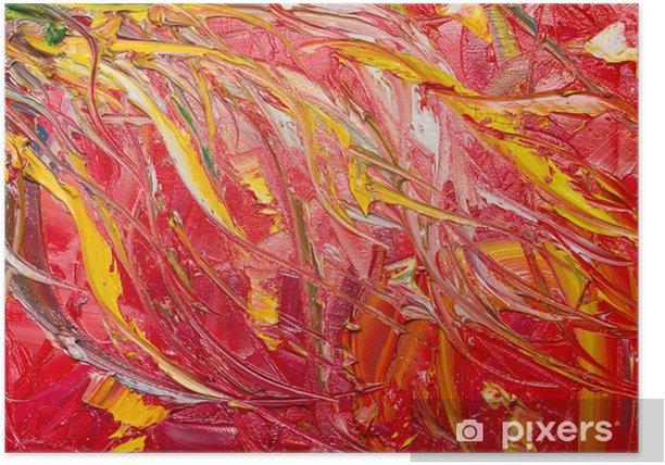 Poster L art abstrait - Art et création