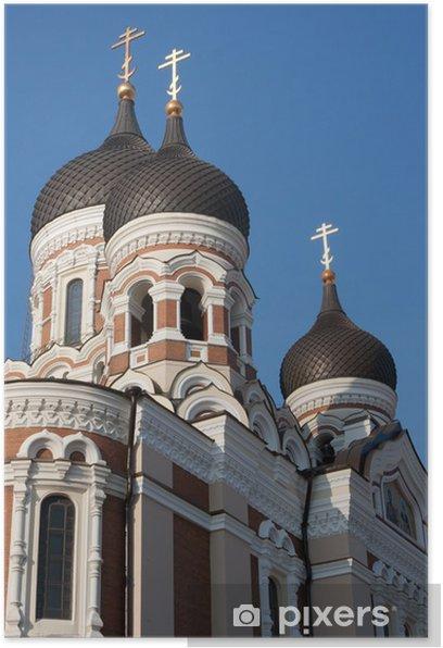 Poster La cathédrale de Alexandre Nevski - Europe