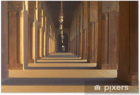 Poster La colonnade à Sultan ibn Tulun mosquée au Caire - Thèmes
