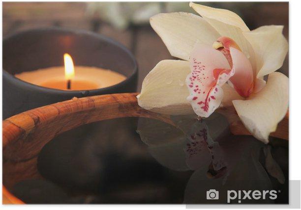 Poster La flamme et l orchidée - Destin