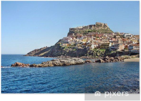 Poster La forteresse de Castelsardo - Europe