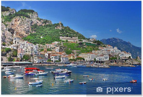 Poster La magnifique côte d'Amalfi, Italie - Thèmes