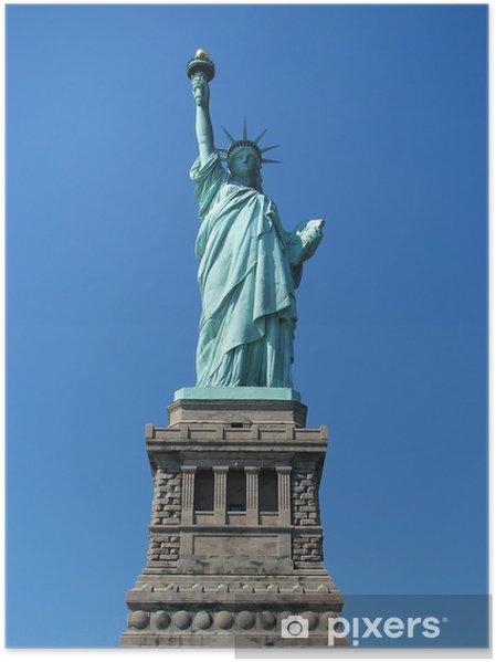 Poster La Statue de la Liberté - Villes américaines