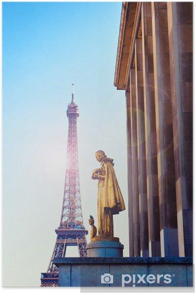Poster La tour eiffel de paris - Europe