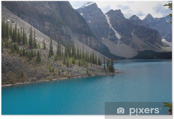 Poster Lac Moraine Canada - Eau