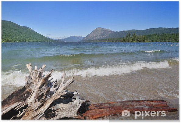 Poster Lac Wenatchee - Amérique