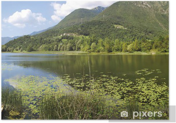 Poster Lago di Garda Gaiano - Europe