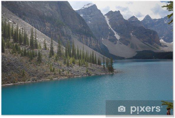Póster Lago Moraine, Canadá - Agua
