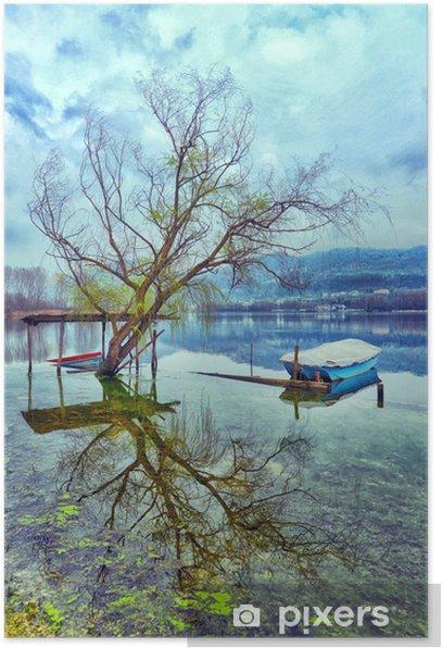 Poster Lago - Eau