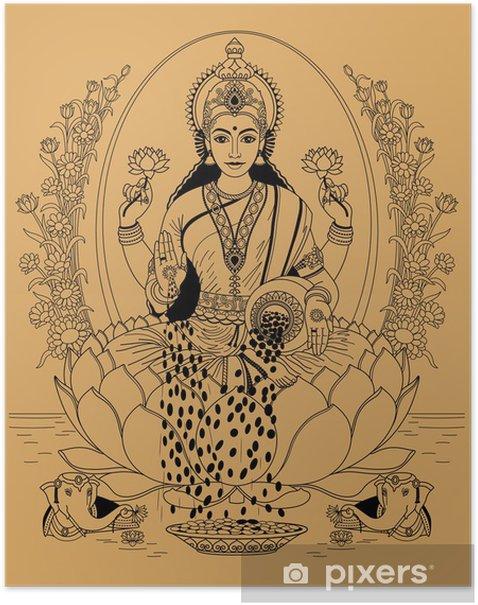 Lakshmi Poster - Religion