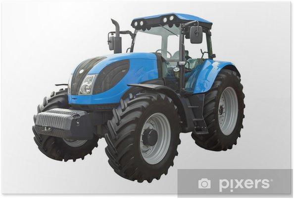 Poster Landbouwtrekker - Landbouw