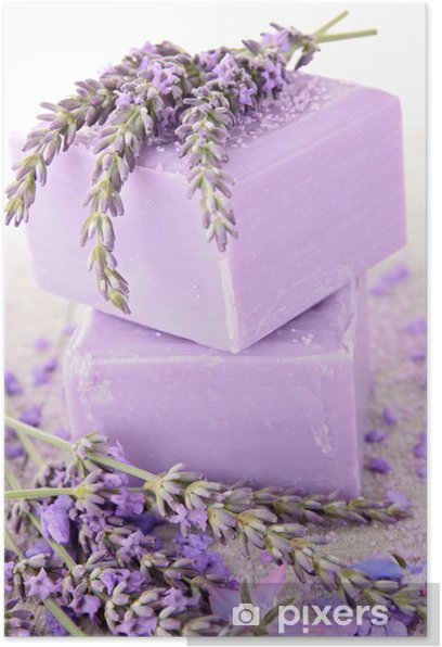 lavender soap Poster - Lifestyle>Body Care and Beauty