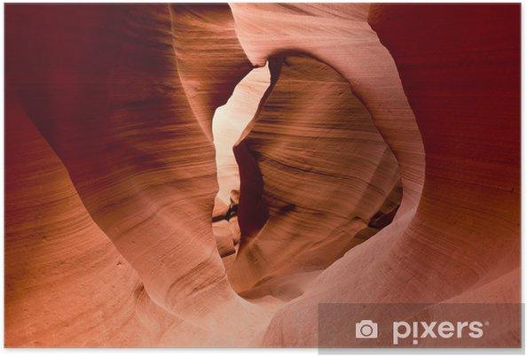Poster Le célèbre Antelope Canyon en Arizona, Etats-Unis - Merveilles naturelles