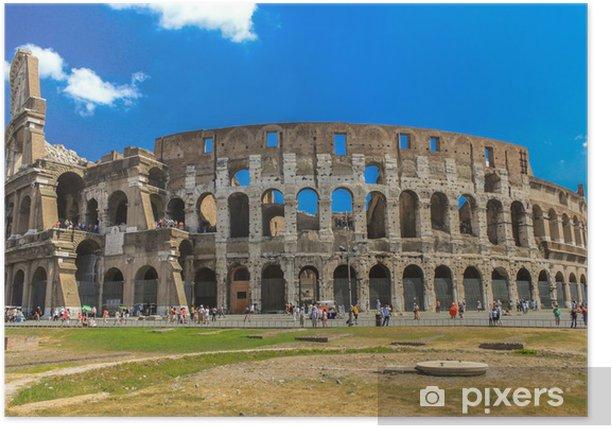Le Colisée à Rome - Italie Poster - Themes