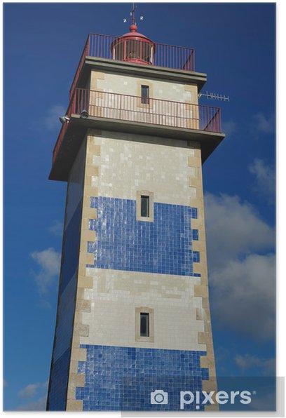 Poster Le Farol de Santa Marta, Cascais, Portugal - Villes européennes