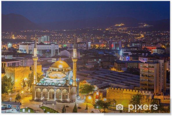 Poster Le paysage urbain de Kayseri, Turquie - Asie