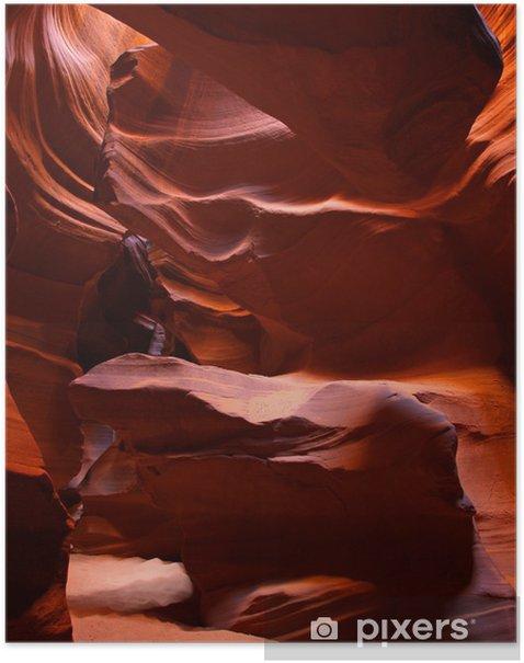 Poster Le Upper Antelope Canyon fente - Merveilles naturelles
