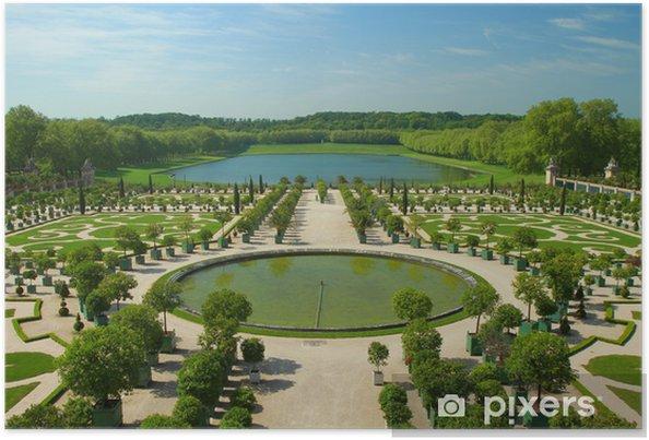 Poster Les Jardins De Versailles