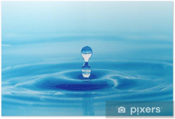 Poster Les projections d'eau - Eau