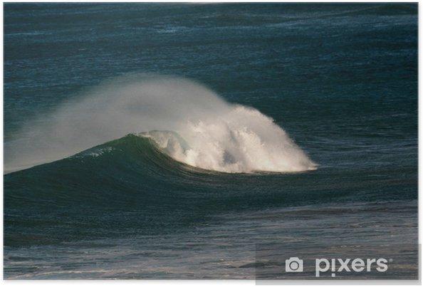 Poster Les vagues aujourd'hui 2 - Vacances