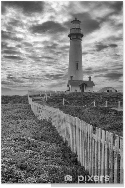 Poster Leuchtturm - Phare