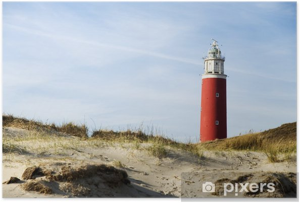 Poster Lighthouse - Vuurtoren