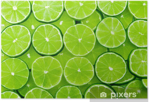 lime background Poster -