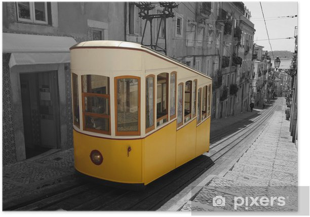 Lisbon Tram Poster - European Cities