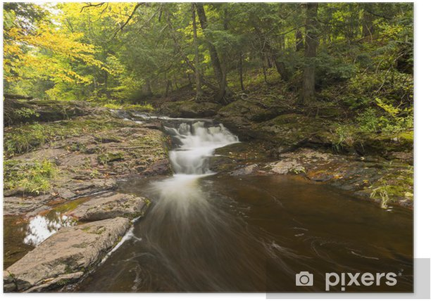 Little Carp River Falls Poster - Water