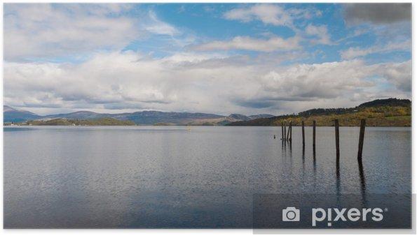Poster Loch Lomond, Schotland - Water