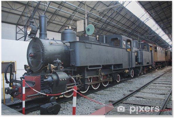 Poster Locomotive à vapeur - Thèmes